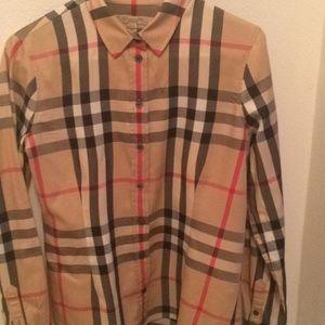 Burberry Men's button down dress shirt